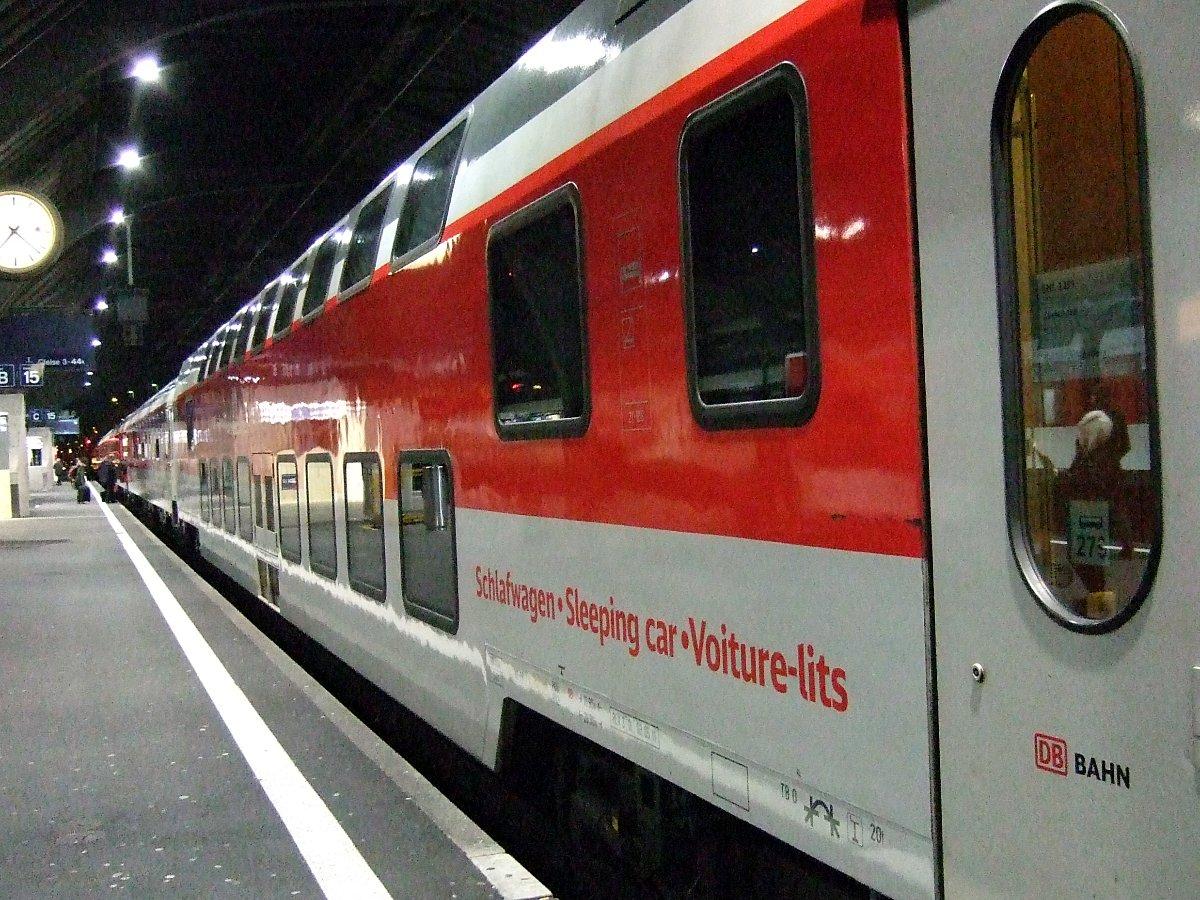 Doppelstock-Schlafwagen CNL.