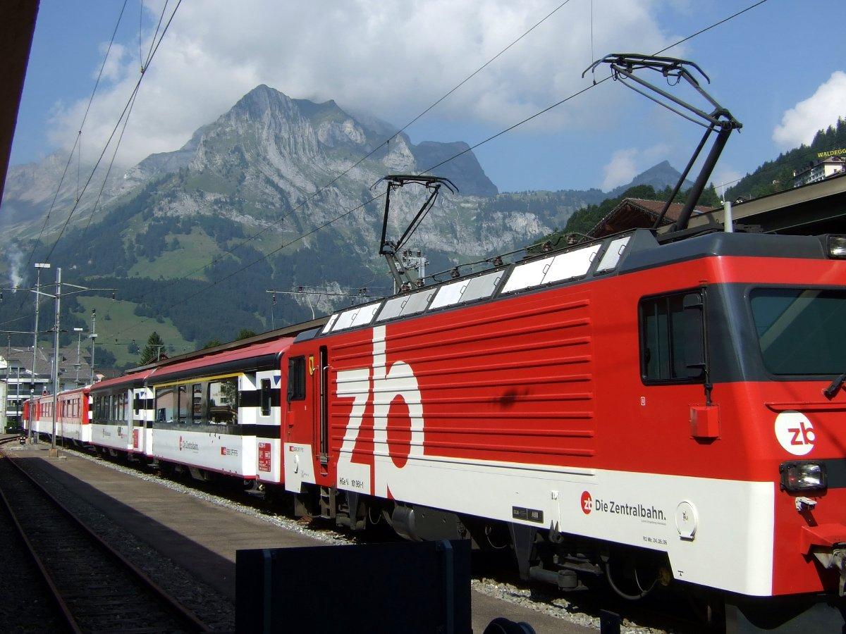 Zentralbahn in Engelberg