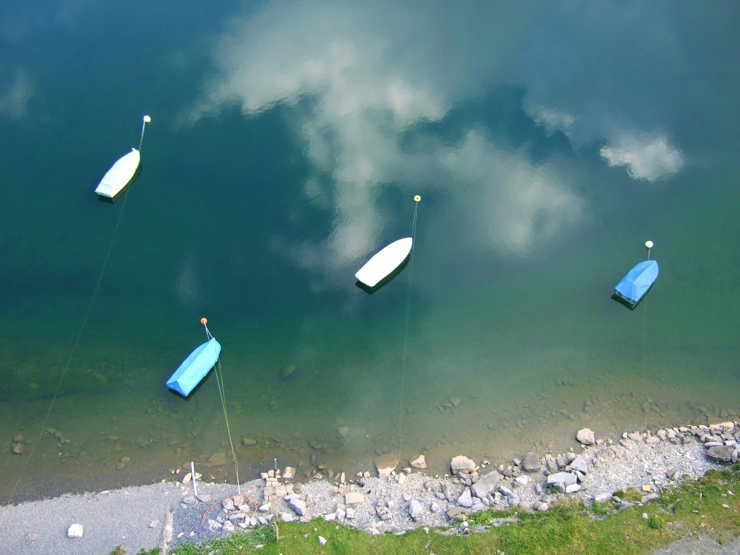 Boote auf dem Melchsee
