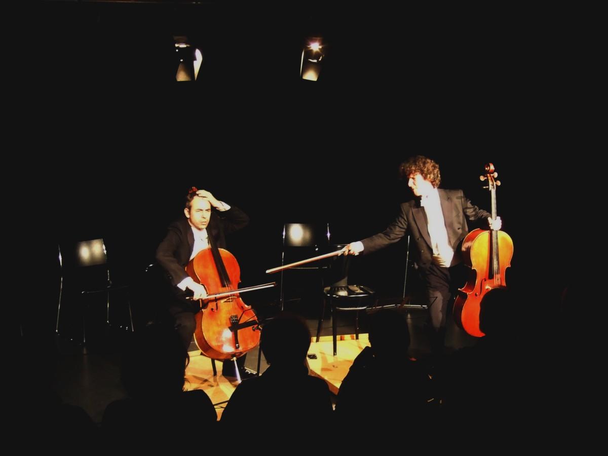 Duo Calva, 11.01.2014, Wil SG, Bühne am Gleis