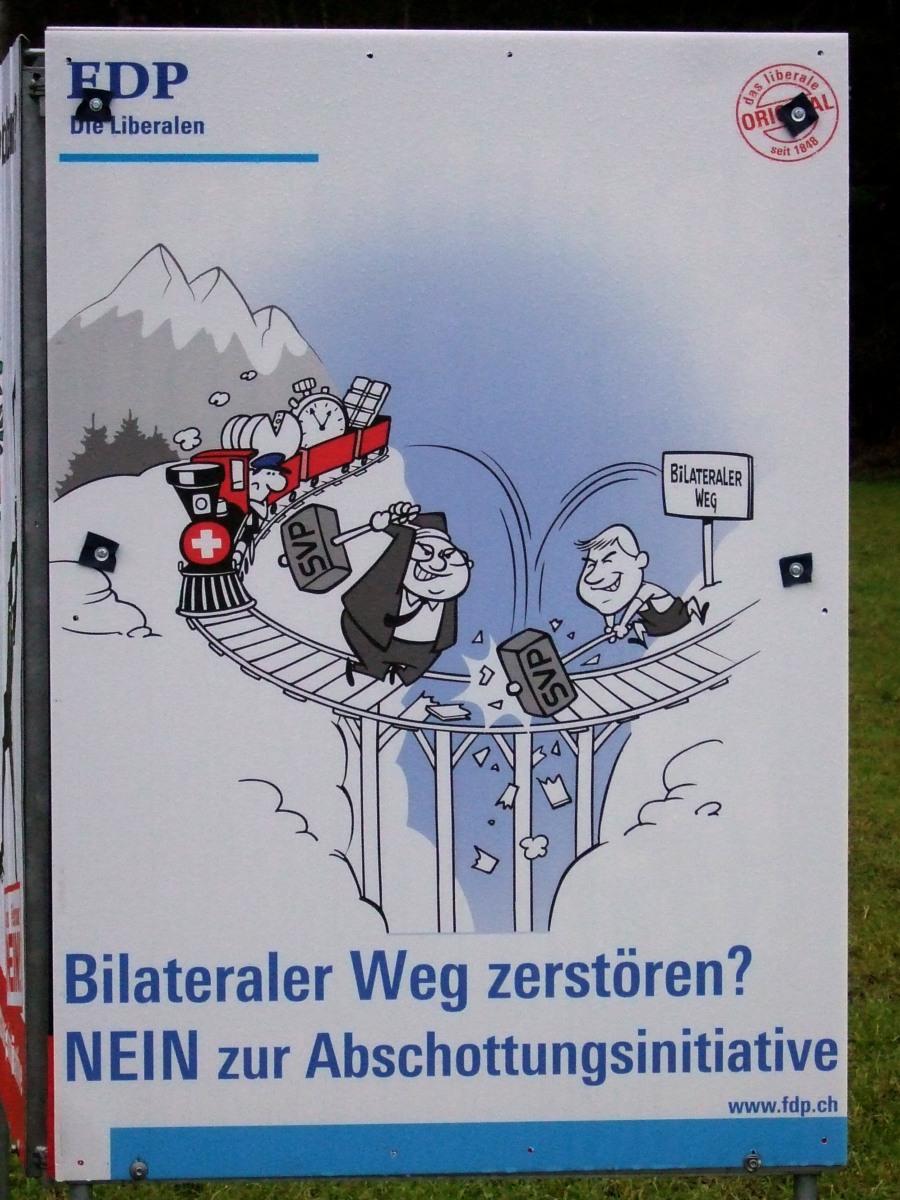 FDP-Plakat zur MEI