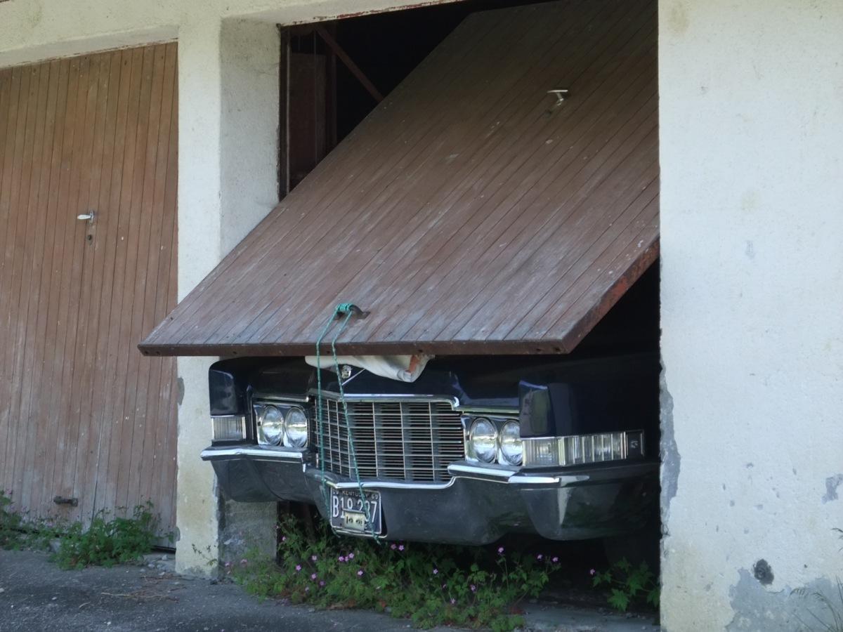 Auto zu lang für die Garage