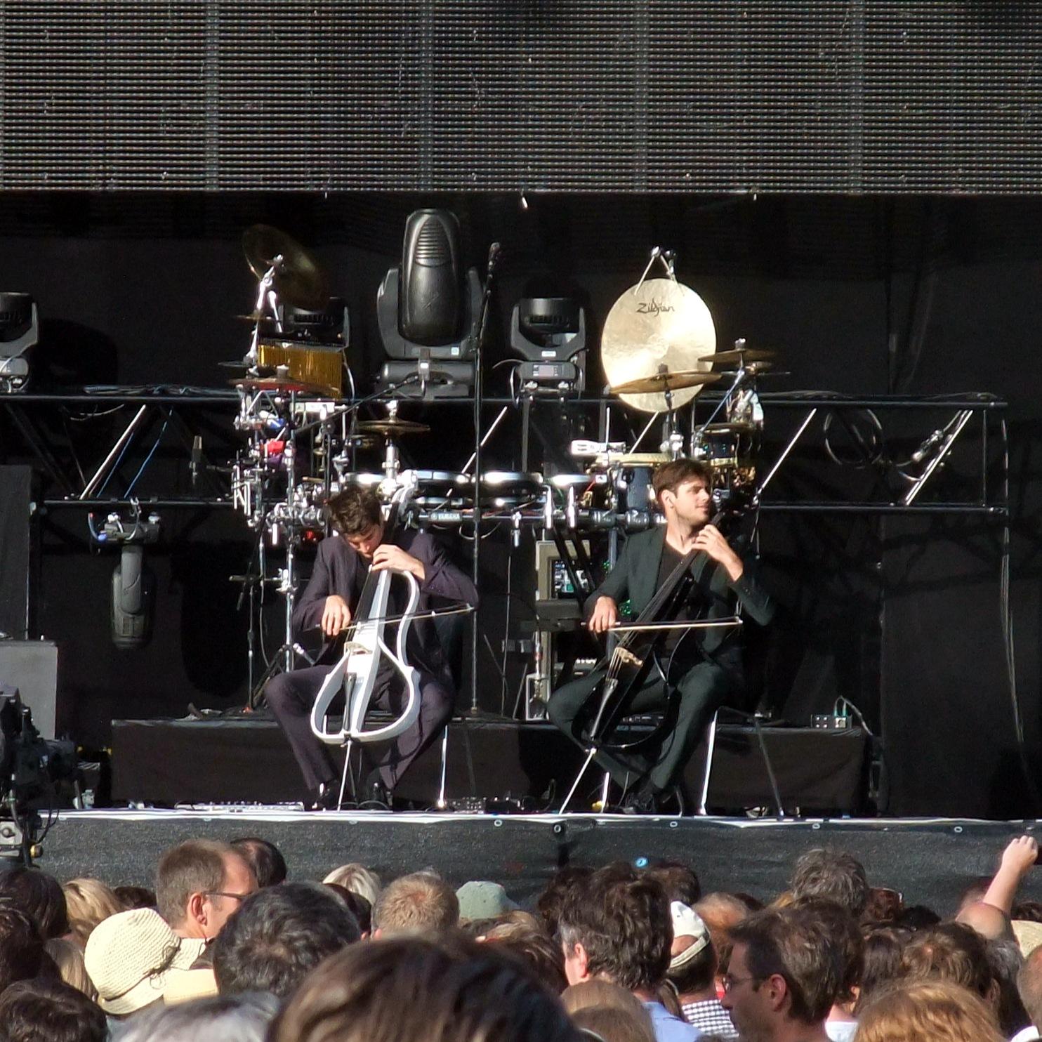2 Cellos, viel zu kurz zu hören