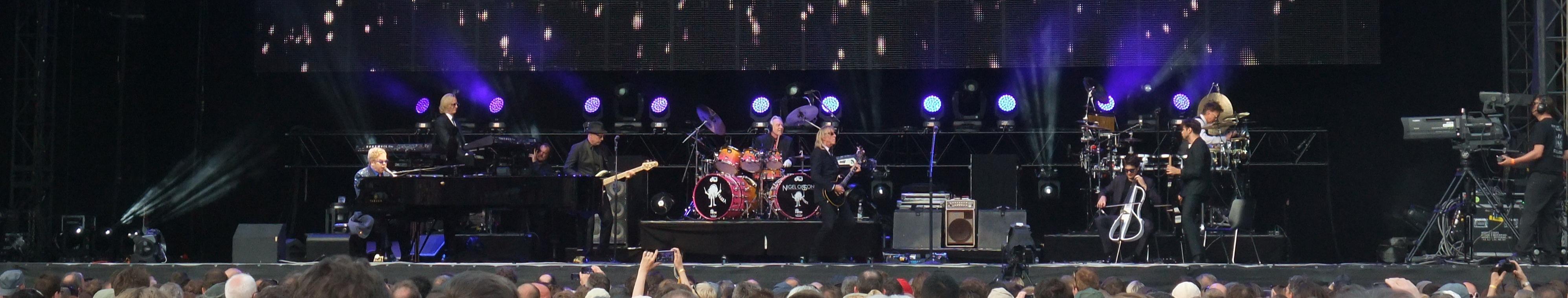 Elton John, der Mann mit den zwei Vornamen