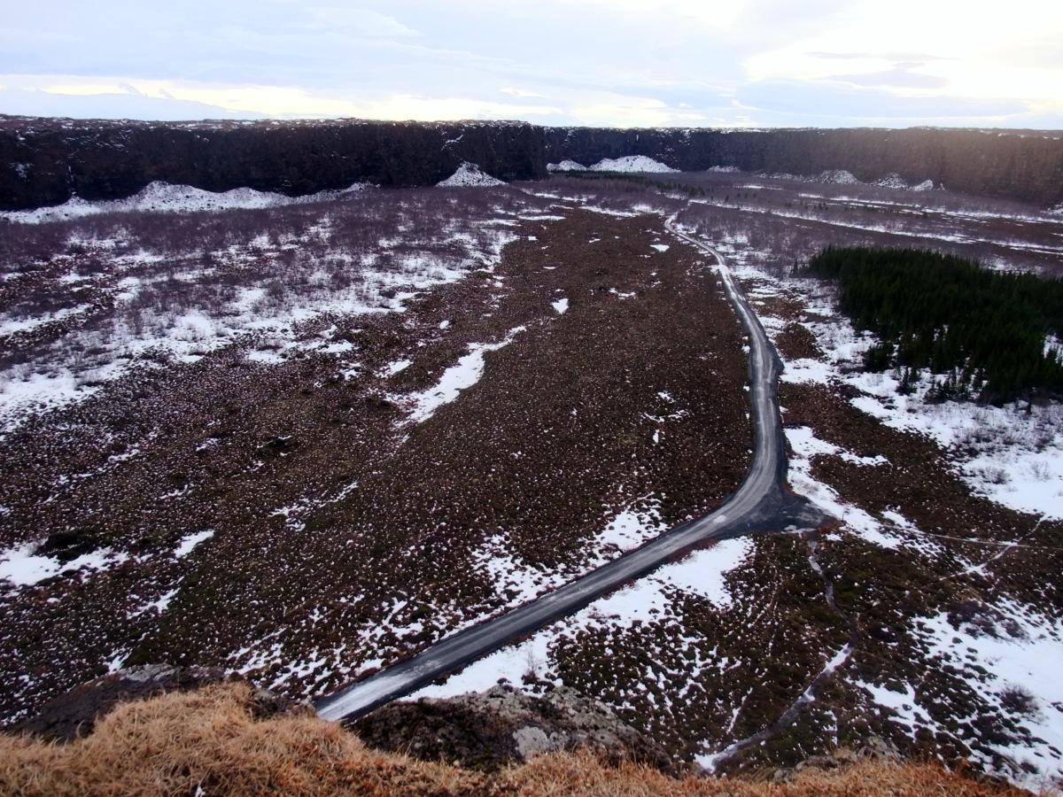 Hufeisen-Tal, nur ein Ausschnitt, bitte 100km/h Wind dazu vorstellen.