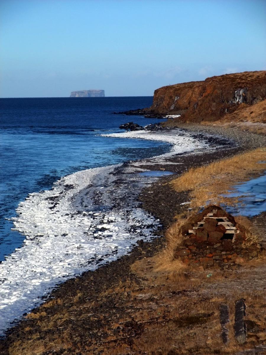 Die Ausläufer der Bucht von Saudarkrokur.