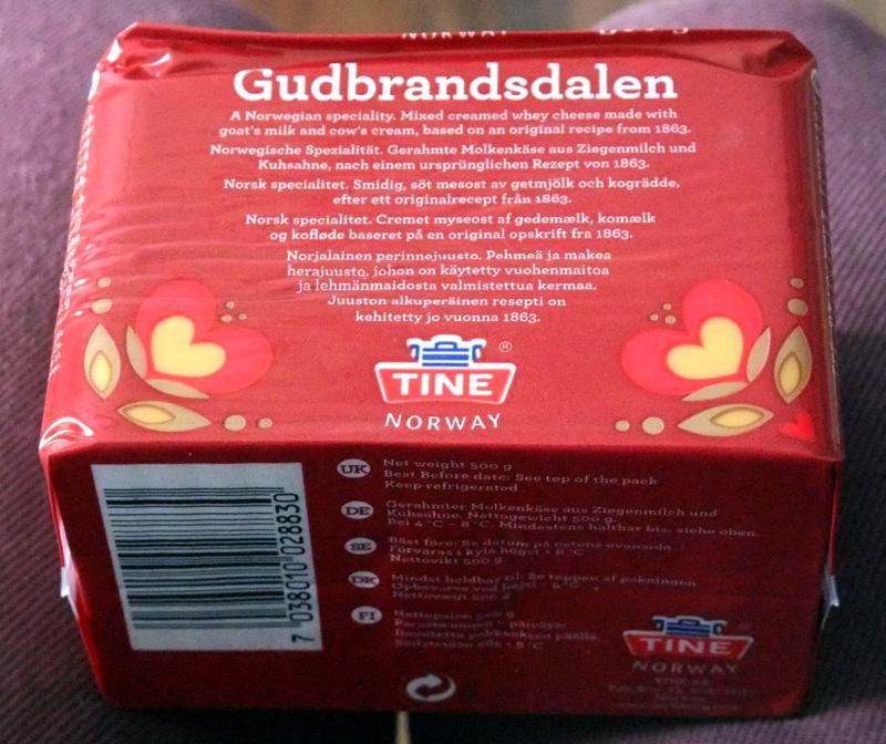 Lange keinen norwegischen Käse mehr gehabt.