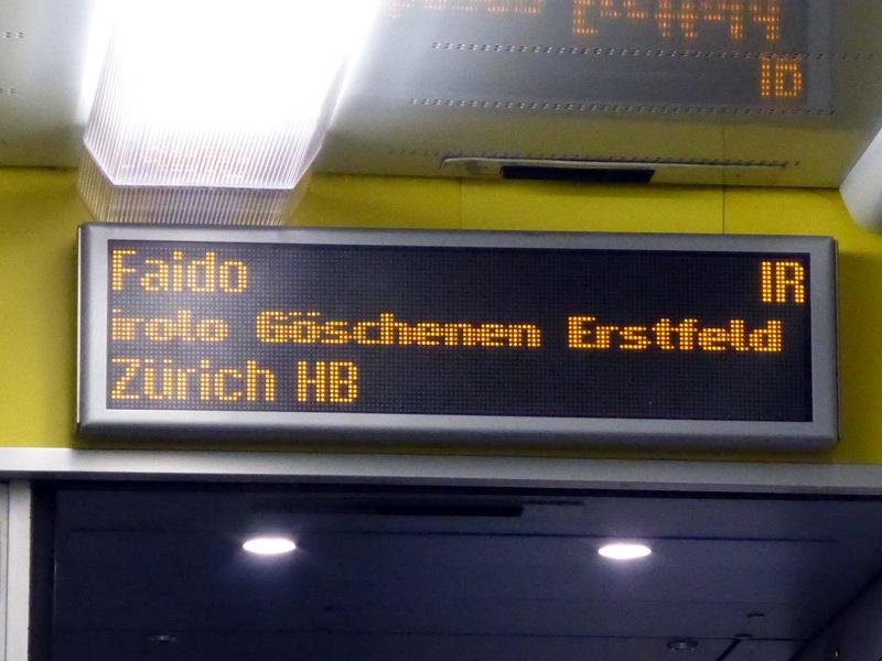 ...mit Halt an allen Unterwegsbahnhöfen.