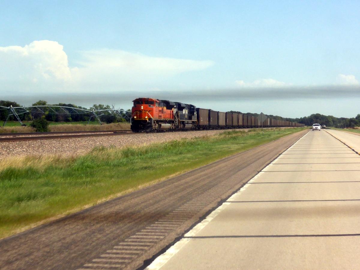 Seeeeeeeeeeeeehr lange Züge.