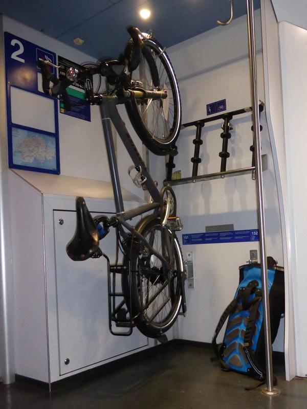Standesgemässe Überführungsfahrt im Eurocity Wil-München