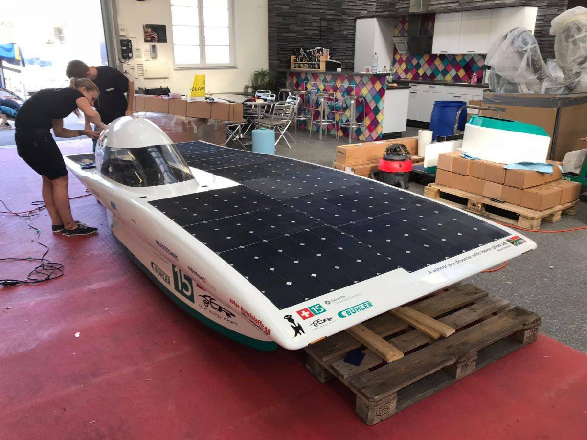 Sonne, igitt… (South Africa Solar Challenge 2018)
