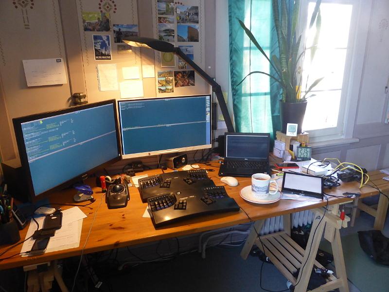 Sonnige Vorbereitung für die SASOL-Telemetrie