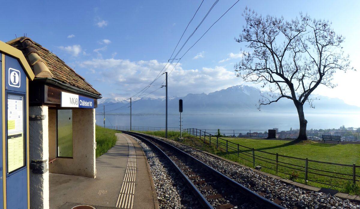 Bahnhofsfotos Vevey-Les Pléiades-Montreux