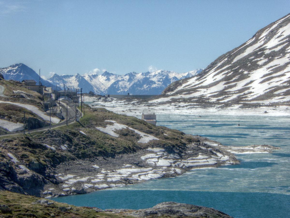 Chur-(Albula)-(Maloja)-(Bernina)-Samedan